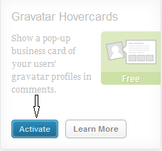 Gravatar Hovercards