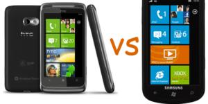 HTC Surround vs Samsung Focus