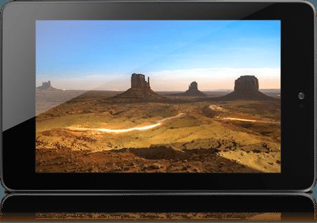 Nexus 7 dimensionsize
