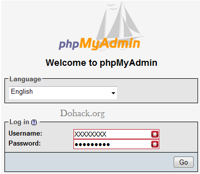 Php My admin logo