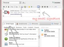 Wisstamp gmail signature addon