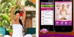 Yogafree iphone app