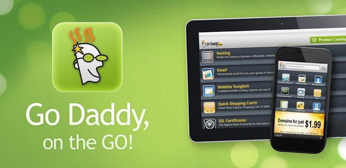 Godaddy app for android