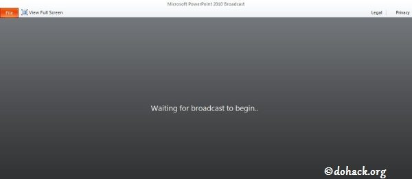 waiting-live-brodcast-of-ppt